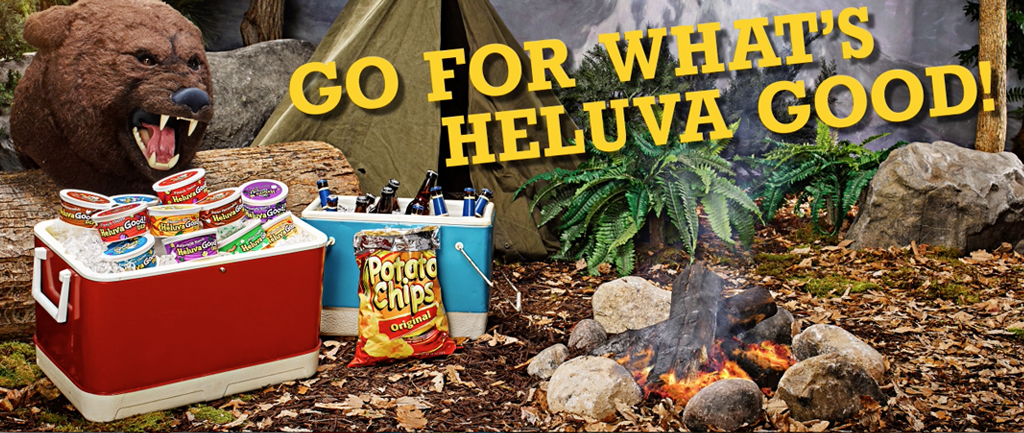 GO FOR WHAT'S HELUVA GOOD