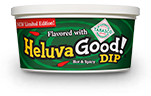 Heluva Good! Dip flavored with TABASCO® brand