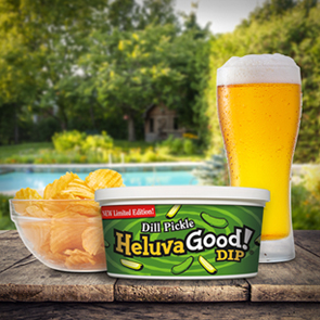 Heluva Good! Dill Pickle Dip & IPA