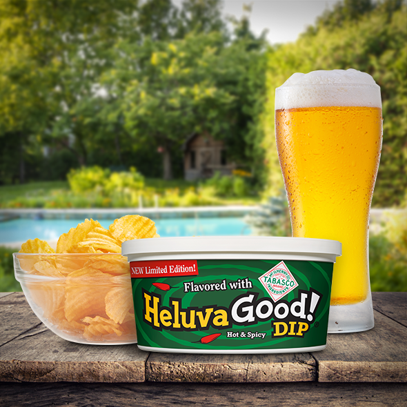 Heluva Good! Dip Flavored with Tabasco® Brand & IPA