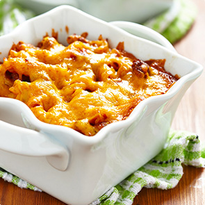 Cheesy Buffalo Mac & Cheese