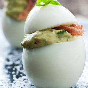 Dilly Deviled Eggs Recipe