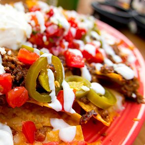 Vegetarian Nachos Recipe