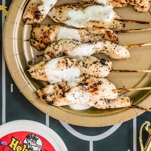 Heluva Good! Marinated Chicken Skewers
