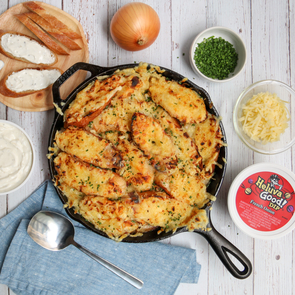Fully Loaded French Onion Chicken
