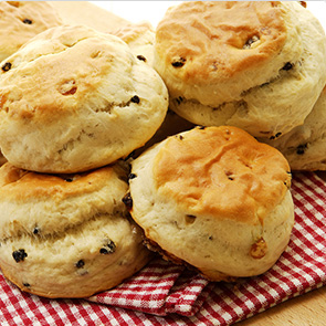 Ham and Cheddar Scones Recipe